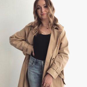 TopShop Oversized Trench Coat